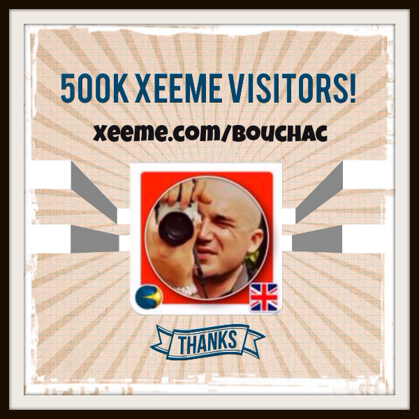 500k visitors xeeme