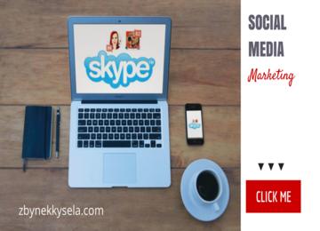 Social Media Marketing via SKYPE